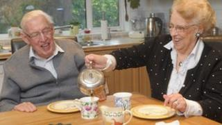 Ian Paisley and his wife eileen