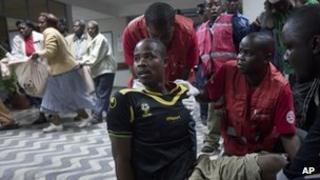 Man injured in Nairobi grenade attack (10 March 2012)