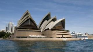 File picture of the Sydney Opera House, 21 April, 2009