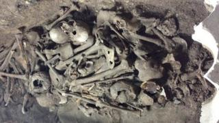 Remains found at York Minster