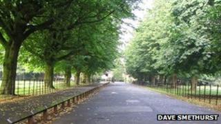 Wythenshawe Park entrance