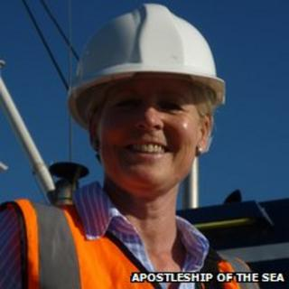 Chaplain Ann Donelly, Aspostleship of the Sea