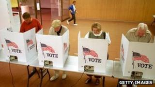 Voters in Texas in 2000 presidential election