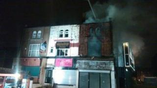 Cheetham Hill fire