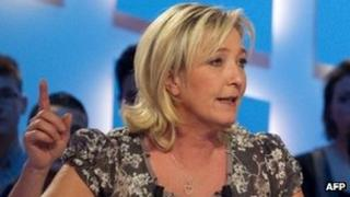 National Front leader Marine Le Pen (9 March 2012)