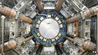 The Large Hadron Collider particle accelerator