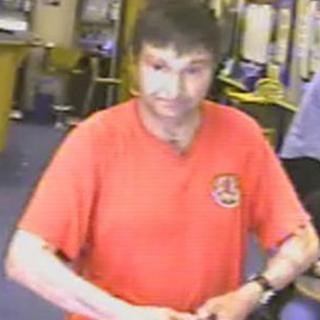 A CCTV image of John William Mason