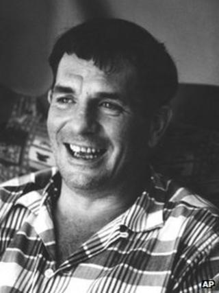 Jack Kerouac pictured in 1967