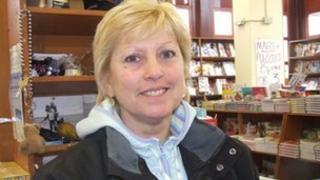 Market trader Mandy Beckwith