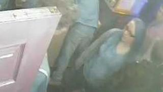 CCTV image of the woman