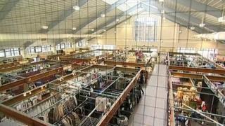 Market Harborough's indoor market