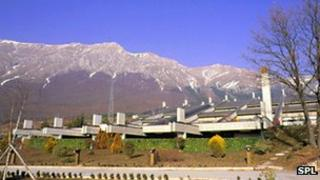 Gran Sasso lab headquarters