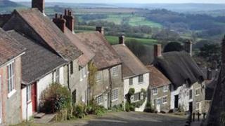 Gold Hill, Dorset