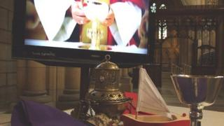 The display in Truro Cathedral