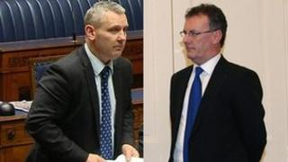 John McCallister , Mike Nesbitt
