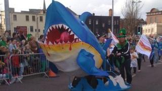 St Patrick's Parade, Derry