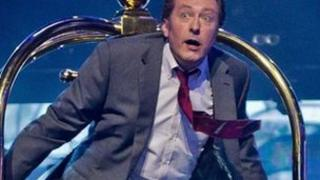 Rowland Rivron on Let's Dance for Sport Relief
