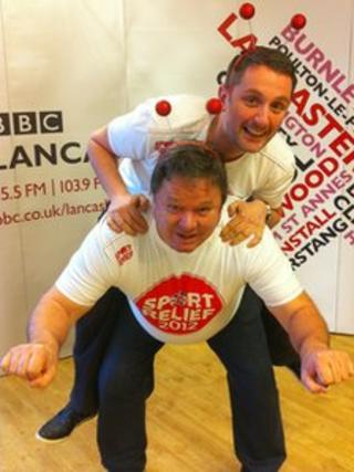 Graham Liver and Ted Robbins