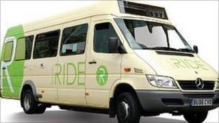 Walk and Ride bus