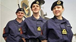 The Royal Navy's new combat uniform