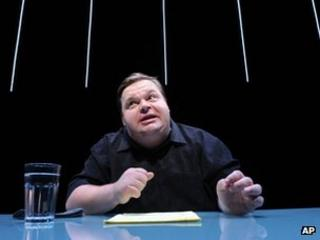 Mike Daisey performing The Agony and Ecstasy of Steve Jobs