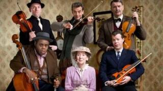 Original cast of The Ladykillers