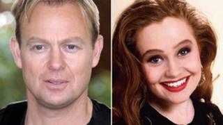 Jason Donovan and Sonia