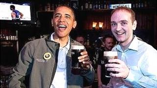 President Obama and Henry Healy