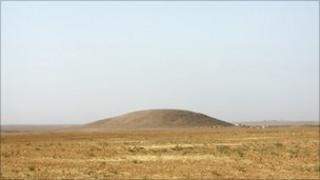 Mound in north-eastern Syria