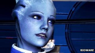 A screenshot from Mass Effect 3