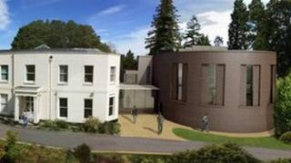 Artist's impression of new building (Pic: Royal Holloway)