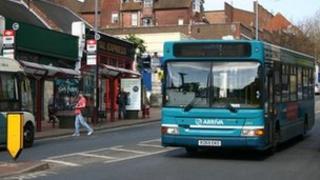 Buses in Tunbridge Wells