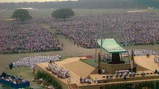 Pope John Paul II mass in Pontcanna Fields, June 1982