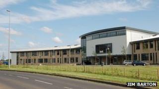 Berwickshire High School by Jim Barton