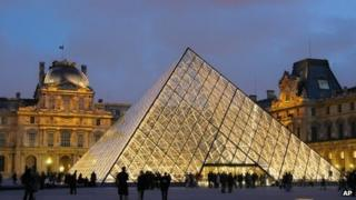 The Louvre in Paris