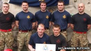 Soldiers from the 2nd Battalion The Duke of Lancaster's Regiment