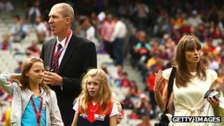 Jim Stynes is survived by his wife and children