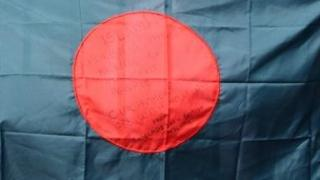A Bangladesh flag
