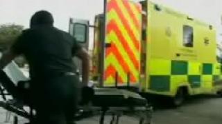 South Western Ambulance Service ambulance