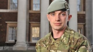 Corporal Keith Mitchell of Royal Scots Dragoon Guards