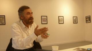 Cartoonist Ali Ferzat