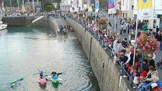 Guernsey's harbour carnival