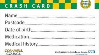 The CRASH card