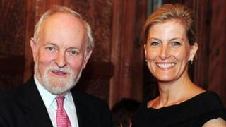 Transform patrons Richard Stilgoe OBE and the Countess of Wessex