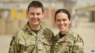 Gareth and Rachel Mawdsley