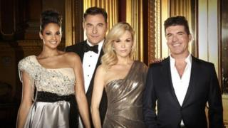 The judges on Britain's Got Talent
