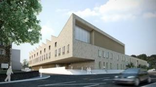 Image of the planned £25m health centre for Ballymena
