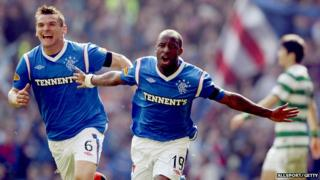 Rangers keep rivals Celtic from top spot after 3-2 win