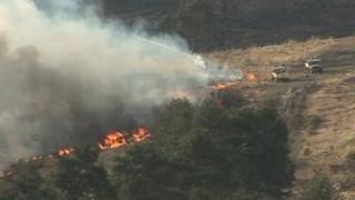 Ashdown Forest fire