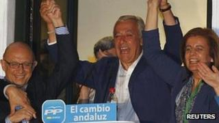 Javier Arenas, Popular Party leader in Andalucia (26 March 2012)